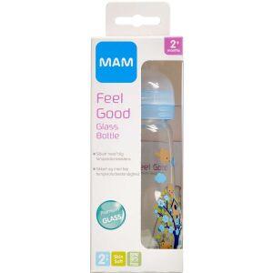 Køb MAM Feel Good Glassutteflaske 260 ml online hos apotekeren.dk