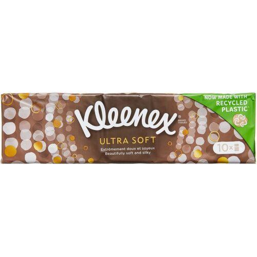 Køb Kleenex Ultra Soft 10x7 stk. online hos apotekeren.dk
