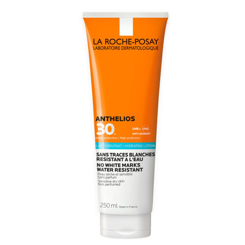 Køb LA ROCHE-POSAY Anthelios Sollotion krop SPF 30 250 ml online hos apotekeren.dk