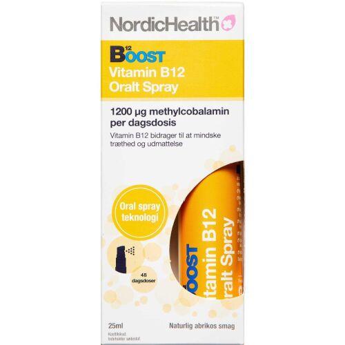 Køb Boost B12-vitamin Spray 25 ml online hos apotekeren.dk