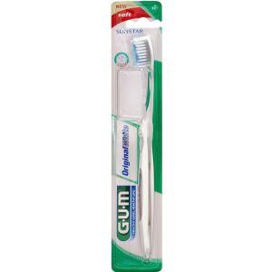 Køb GUM Original White tandbørste blød 1 stk. online hos apotekeren.dk
