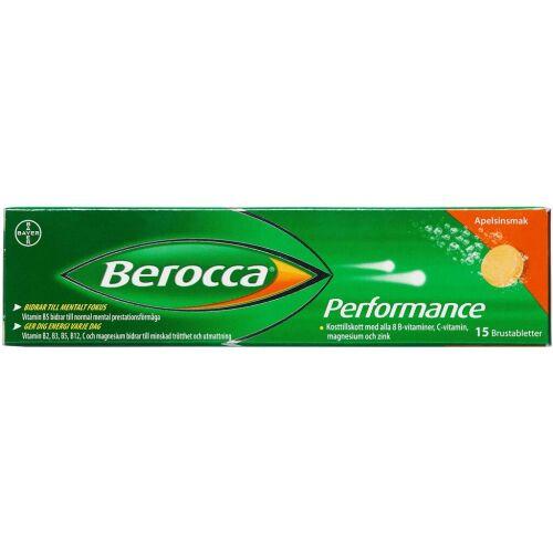 Køb Berocca Performance brusetabletter 15 stk. online hos apotekeren.dk