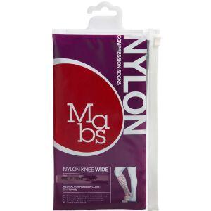 Køb Mabs Nylon Knee Wide black str. S 36-38 1 par online hos apotekeren.dk