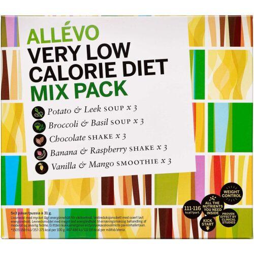 Køb Allévo VLCD Mix Pack 15 stk. online hos apotekeren.dk