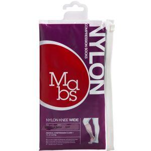 Køb Mabs Nylon Knee Wide black str. M 1 par online hos apotekeren.dk