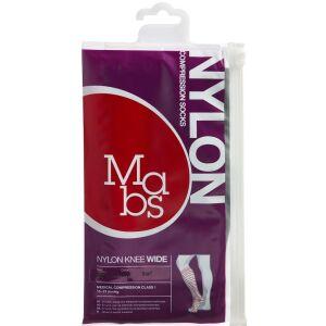 Køb Mabs Nylon Knee Wide black str. XL 1 par online hos apotekeren.dk