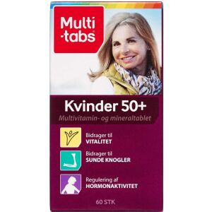 Køb Multi-tabs kvinder 50+ tabletter 60 stk. online hos apotekeren.dk