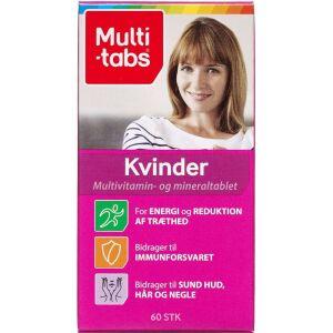 Køb Multi-tabs Kvinder 60 stk. online hos apotekeren.dk