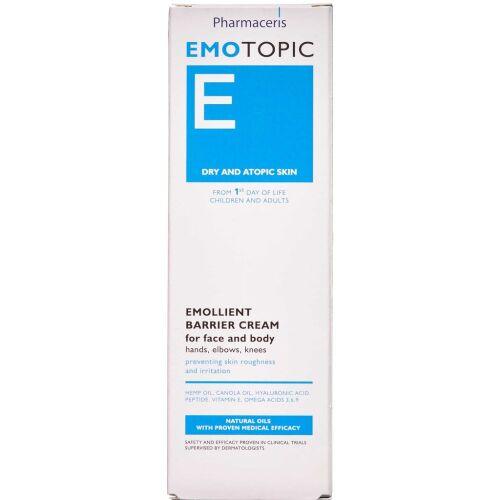Køb Pharmacereris E Emotopic barrierecreme 75 ml online hos apotekeren.dk