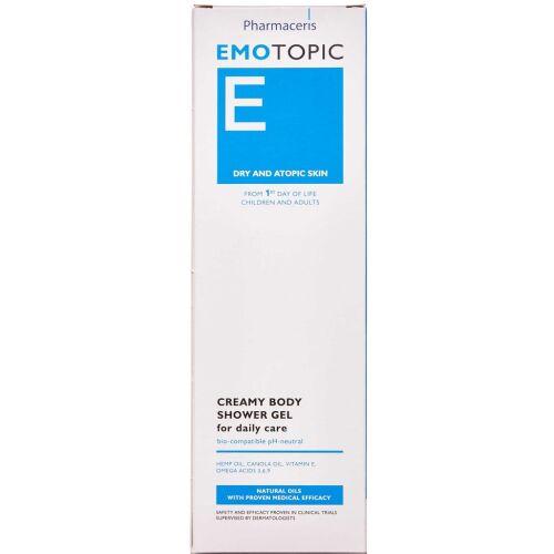 Køb Pharmaceris E Emotopic showergel 400 ml online hos apotekeren.dk