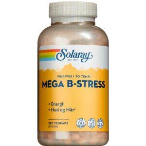 Køb Solaray Mega B-stress kapsler 250 stk. online hos apotekeren.dk