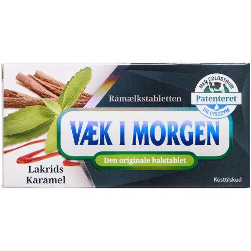 Køb Væk i morgen halstablet lakrids/karamel 20 stk. online hos apotekeren.dk