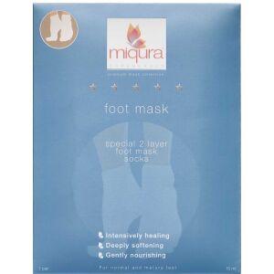Køb Miqura Premium foot mask 1 par online hos apotekeren.dk
