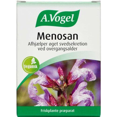 Køb A. Vogel Menosan tabletter 90 stk. online hos apotekeren.dk