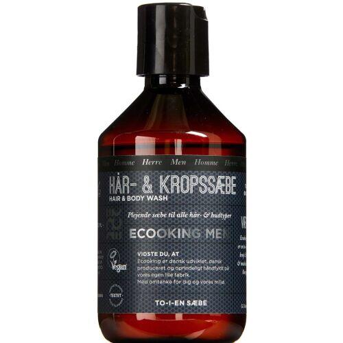Køb Ecooking Men hår- og kropssæbe 250 ml online hos apotekeren.dk