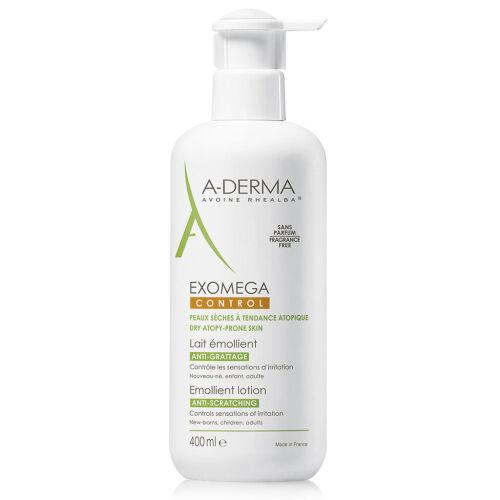 Køb A-Derma Exomega Control lotion 400 ml online hos apotekeren.dk