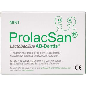 Køb ProlacSan sugetabletter 30 stk. online hos apotekeren.dk