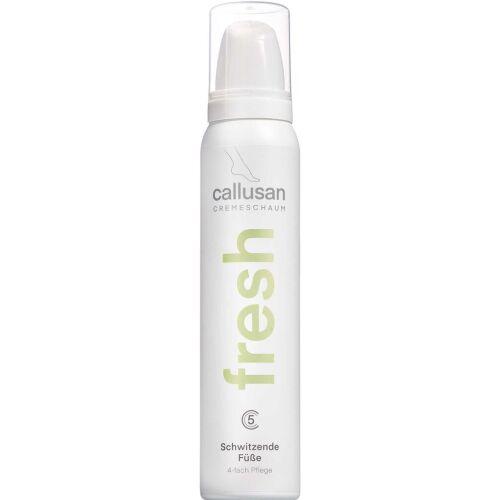 Køb Callusan Cream Mousse Fresh 125 ml online hos apotekeren.dk