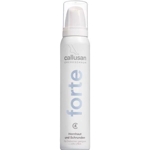 Køb Callusan Cream Mousse Forte 125 ml online hos apotekeren.dk