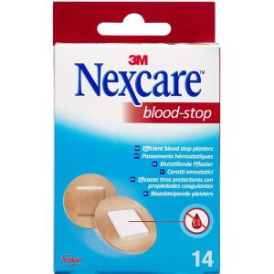 Køb 3M Nexcare Blood-Stop Runde Plastre 14 stk. online hos apotekeren.dk