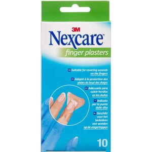 Køb 3M Nexcare Finger Plaster 10 stk. online hos apotekeren.dk