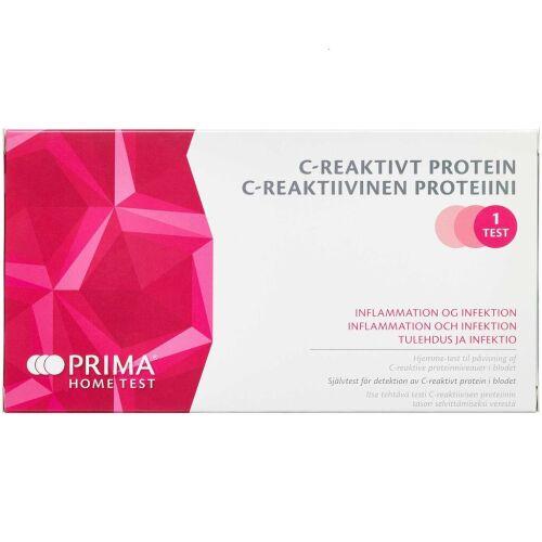 Køb PRIMA CRP test 1 stk. online hos apotekeren.dk