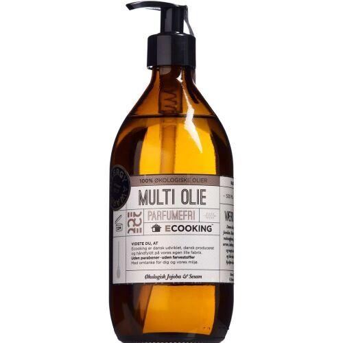 Køb Ecooking Multiolie Uden Parfume 500 ml online hos apotekeren.dk