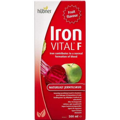 Køb Iron Vital F 500 ml online hos apotekeren.dk