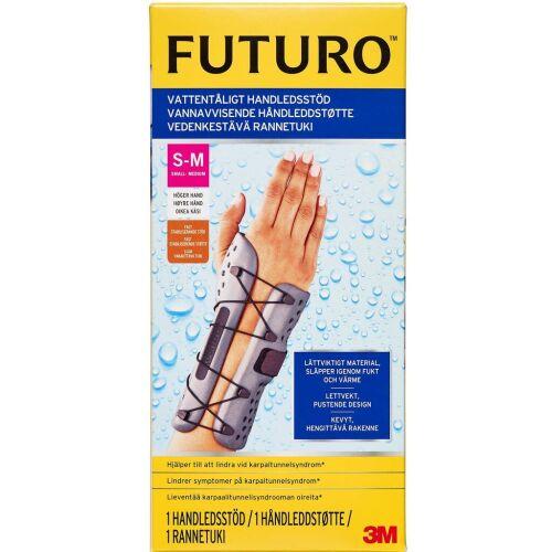 Køb Futuro vandafvisende håndledsstøtte højre S/M 1 stk. online hos apotekeren.dk