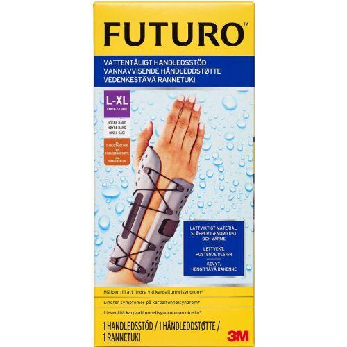 Køb Futuro vandafvisende håndledsstøtte højre L-XL 1 stk. online hos apotekeren.dk