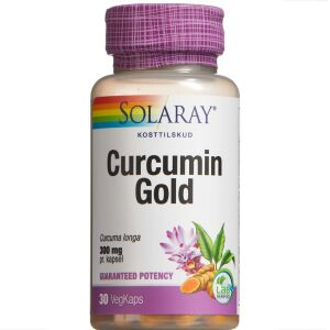 Køb Solaray Curcumin Gold kapsler 30 stk. online hos apotekeren.dk