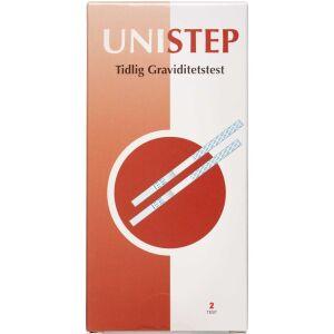 Køb UNISTEP Graviditetstest 2 stk. online hos apotekeren.dk