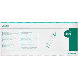 Køb Sprøjte Omnifix Luer 20 ml 100 stk. online hos apotekeren.dk