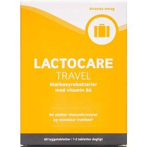 Køb Lactocare Travel mælkesyrebakterier 60 stk. online hos apotekeren.dk