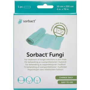 Køb Sorbact Fungi bandage steril 10x200 cm 1 stk. online hos apotekeren.dk
