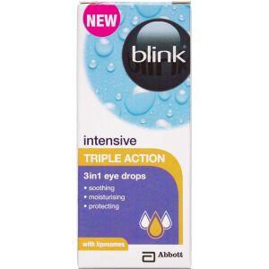 Køb Blink Intensive triple action 3i1 øjendråber 10 ml online hos apotekeren.dk