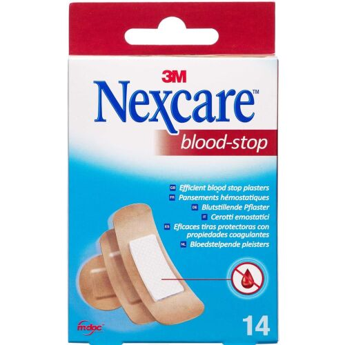 Køb 3M Nexcare Blood-Stop 14 stk. online hos apotekeren.dk