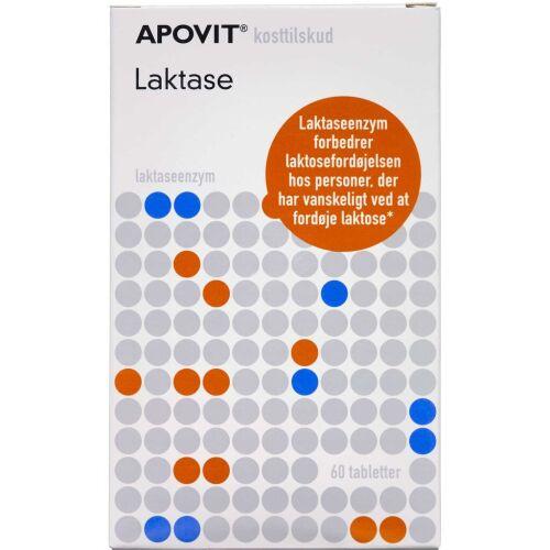 Køb Apovit Laktase tabletter 60 stk. online hos apotekeren.dk
