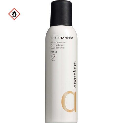 Køb Apotekets Dry Shampoo frisker håret op og giver det fylde 200 ml online hos apotekeren.dk