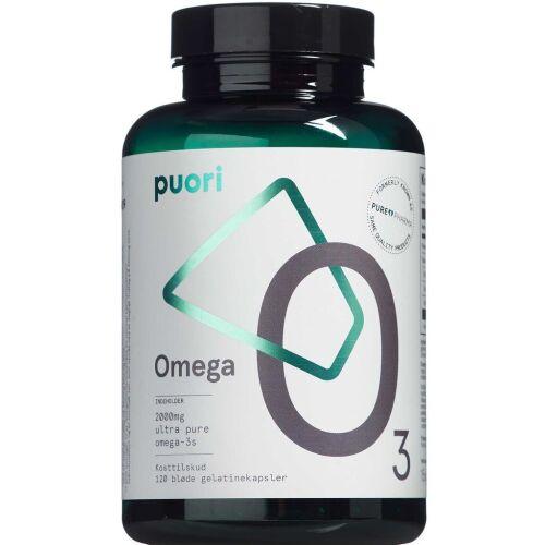 Køb Puori Omega O3 kapsler 120 stk. online hos apotekeren.dk