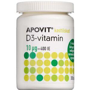 Køb Apovit D3-Vitamin tablet 10 mikg 300 stk. online hos apotekeren.dk