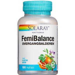 Køb Solaray FemiBalance kapsler 100 stk. online hos apotekeren.dk