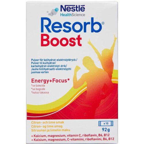 Køb Resorb Boost 10x9,2 g online hos apotekeren.dk