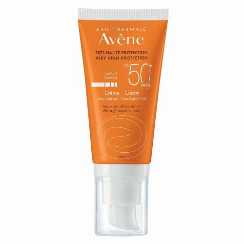 Køb Avène Sun cream spf 50+ 50 ml online hos apotekeren.dk