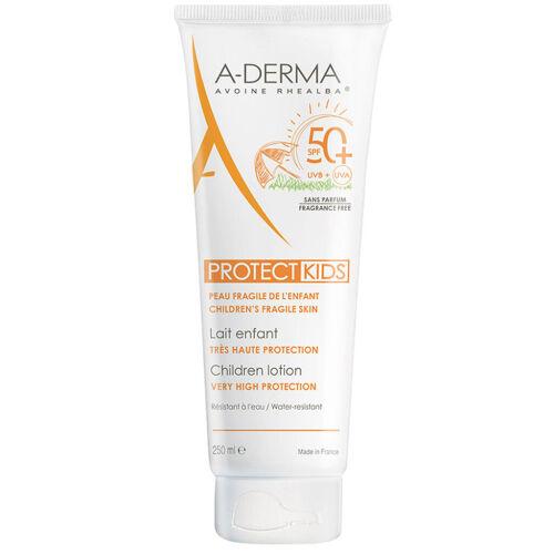 Køb A-Derma Protect Kids Lotion SPF 50+ 250 ml online hos apotekeren.dk