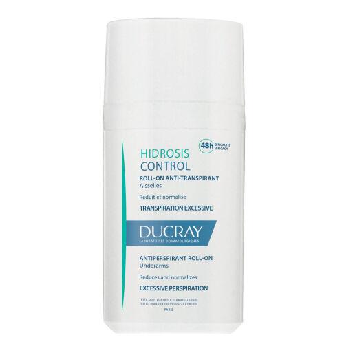 Køb Ducray Hidrosis Control Roll-On Anti-perspirant 40 ml online hos apotekeren.dk