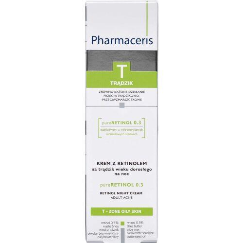 Køb Pharmaceris T Pure Retinol natcreme 40 ml online hos apotekeren.dk