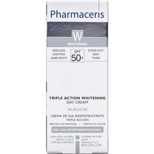 Køb Pharmaceris W Albucin Triple Action dagcreme SPF 50+ 30 ml online hos apotekeren.dk