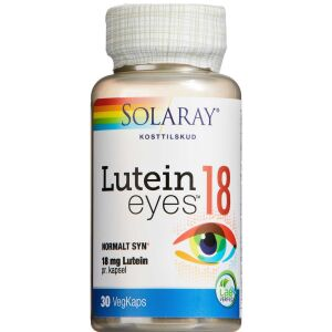 Køb Solaray Lutein Eye kapsler 30 stk. online hos apotekeren.dk