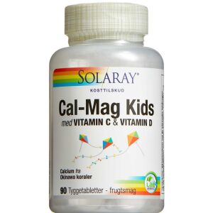 Køb Solaray Calcium Kids tyggetablet 90 stk. online hos apotekeren.dk